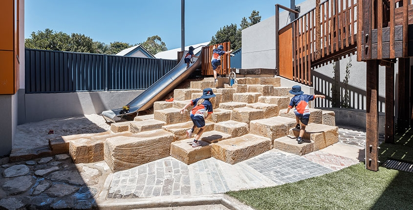 Caloundra school playground