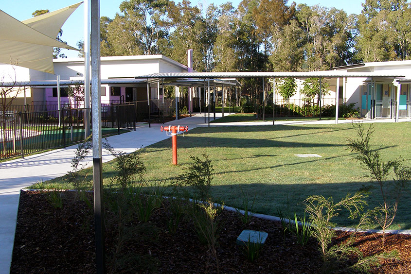 Currumbin school pathways concrete