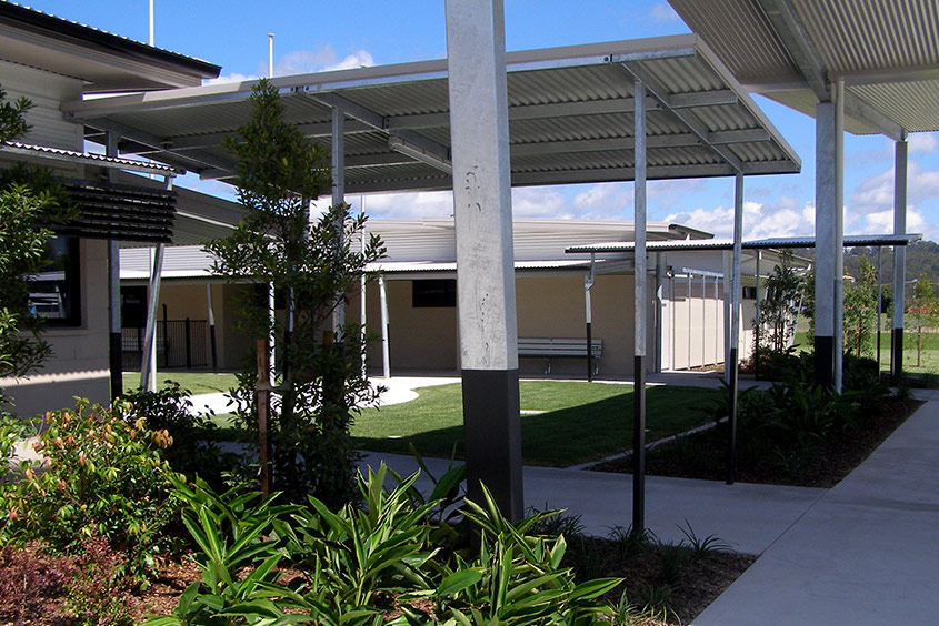 Currumbin school shade structure
