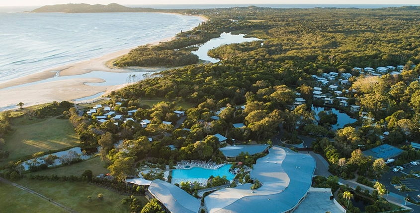 Byron Bay Resort landscape