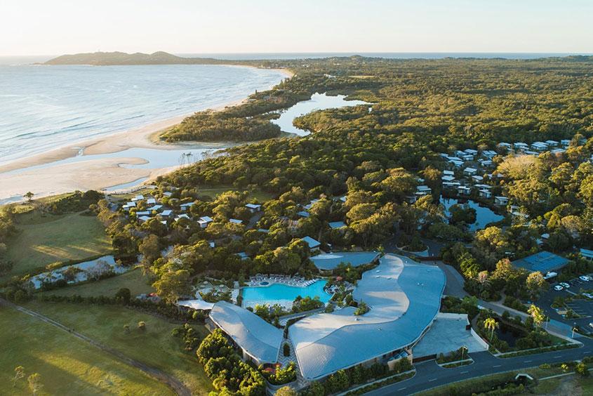Byron Bay Resort landscape