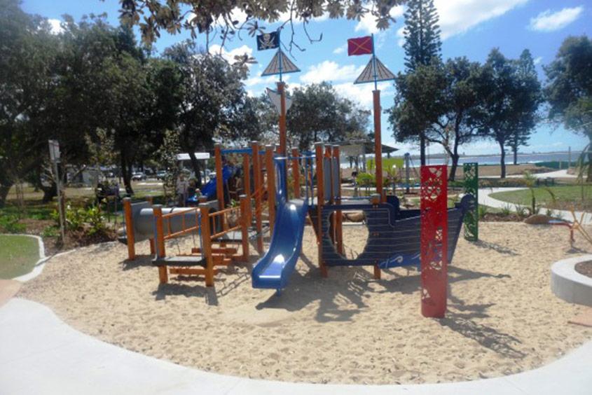 faulks park kingscliff toddler play area