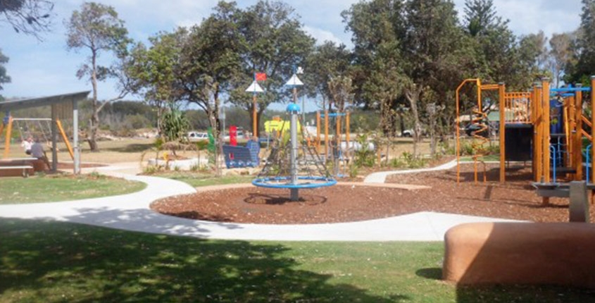 faulks park kingscliff play equipment