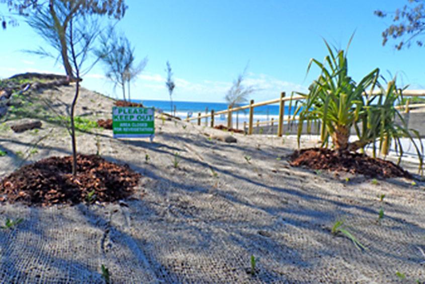 Maroochydore beach exit