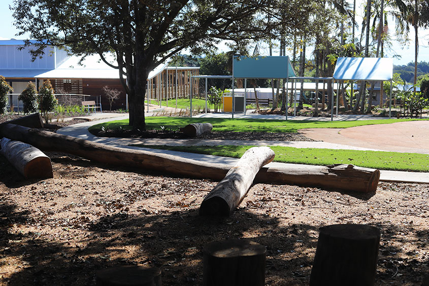 New South Wales commercial landscapers adventure playground